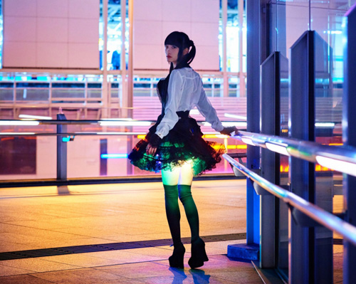 LED mini skirt-2
