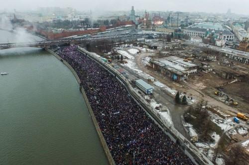 траурное шествие_Убийство Немцова