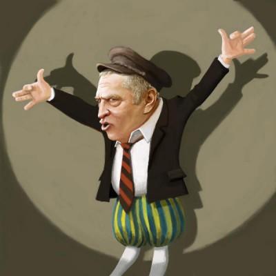 Zhirinovsky caricature
