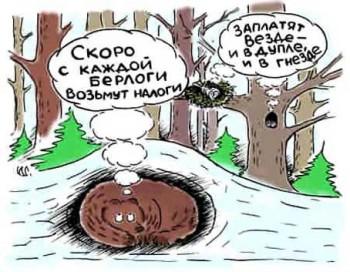 налоги_недвижимость_карикатура