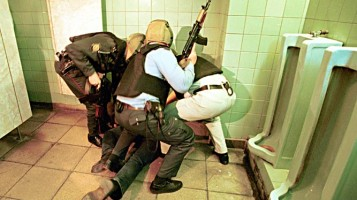 To kill in the toilet