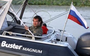Medvedev on vacation